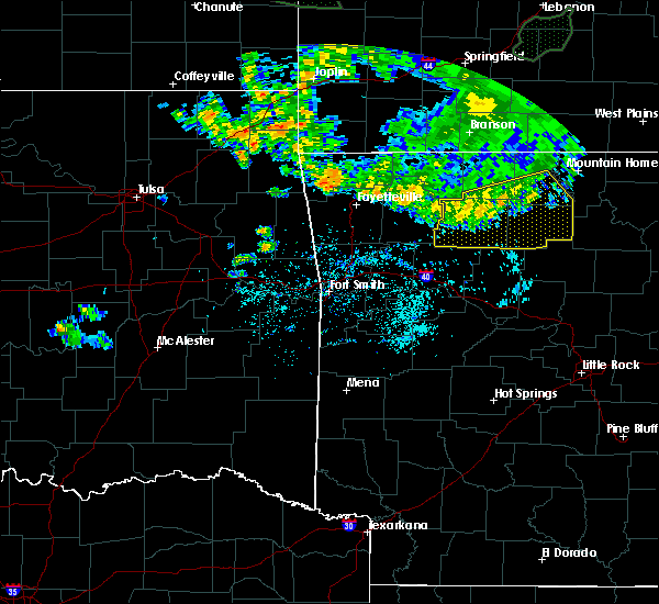 Radar Image for Severe Thunderstorms near Pindall, AR at 6/4/2020 6:52 AM CDT