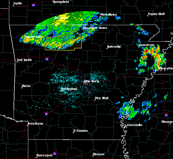 Radar Image for Severe Thunderstorms near Pindall, AR at 6/4/2020 7:04 AM CDT