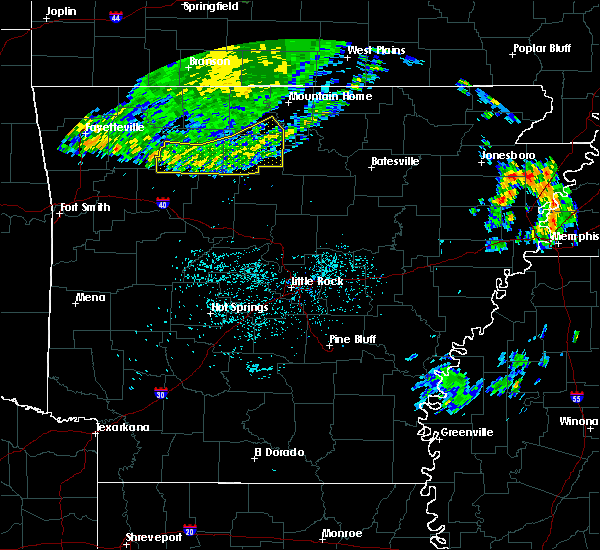 Radar Image for Severe Thunderstorms near Pindall, AR at 6/4/2020 7:10 AM CDT