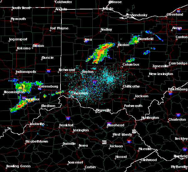 Radar Image for Severe Thunderstorms near West Liberty, OH at 6/4/2020 11:35 AM EDT
