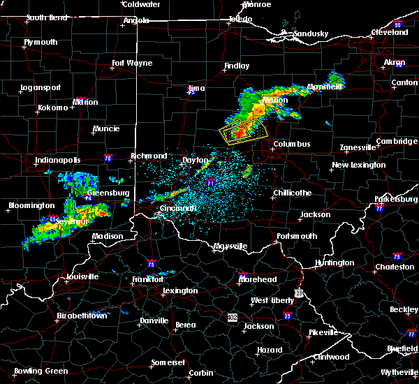 Radar Image for Severe Thunderstorms near Shawnee Hills, OH at 6/4/2020 12:19 PM EDT