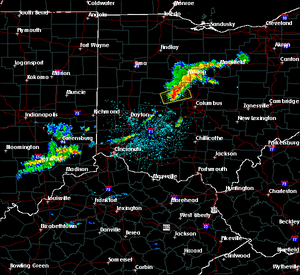 Radar Image for Severe Thunderstorms near Shawnee Hills, OH at 6/4/2020 12:26 PM EDT
