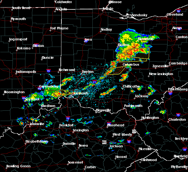 Radar Image for Severe Thunderstorms near Grandview Heights, OH at 6/4/2020 1:11 PM EDT
