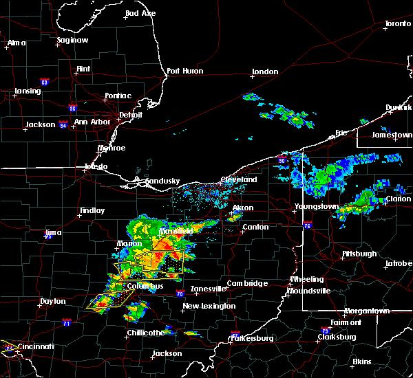 Radar Image for Severe Thunderstorms near Gann, OH at 6/4/2020 1:28 PM EDT