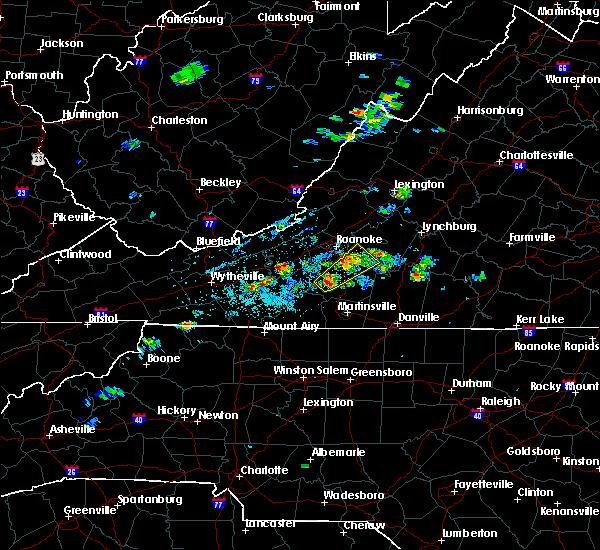 Radar Image for Severe Thunderstorms near Westlake Corner, VA at 6/4/2020 2:13 PM EDT