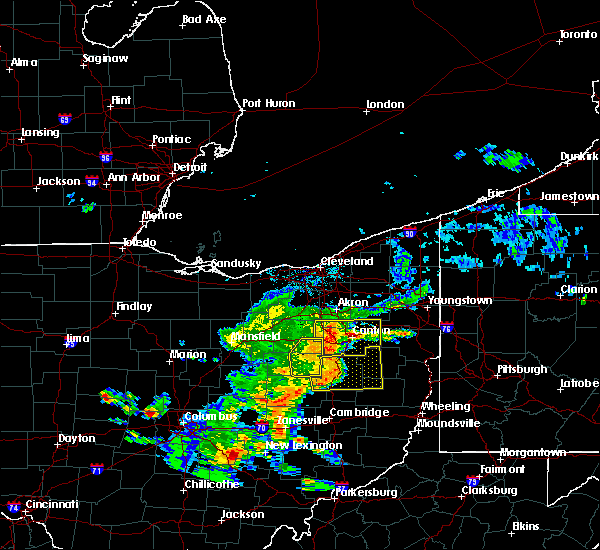 Radar Image for Severe Thunderstorms near Sugarcreek, OH at 6/4/2020 2:44 PM EDT