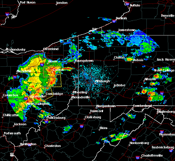 Radar Image for Severe Thunderstorms near Zoar, OH at 6/4/2020 3:00 PM EDT