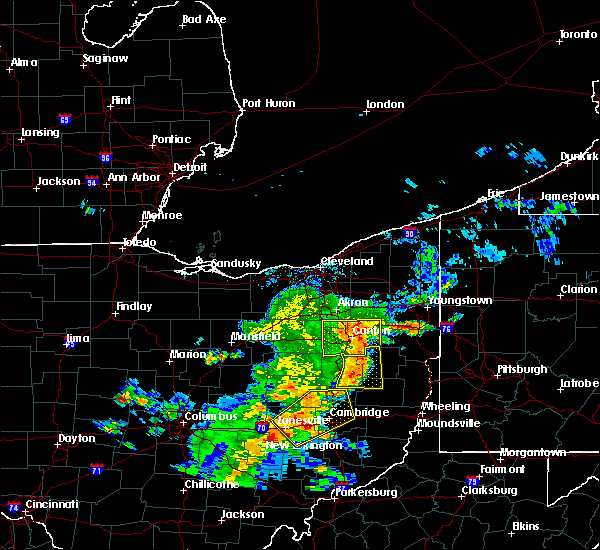 Radar Image for Severe Thunderstorms near Limaville, OH at 6/4/2020 3:05 PM EDT