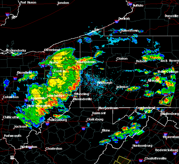 Radar Image for Severe Thunderstorms near New Kensington, PA at 6/4/2020 4:06 PM EDT