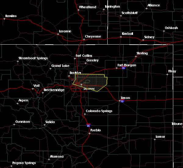 Radar Image for Severe Thunderstorms near Strasburg, CO at 6/4/2020 2:11 PM MDT