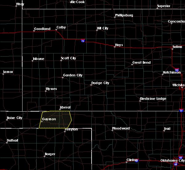 Radar Image for Severe Thunderstorms near Hooker, OK at 6/4/2020 3:11 PM CDT