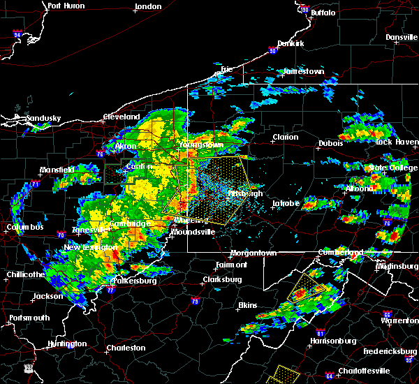 Radar Image for Severe Thunderstorms near West Middlesex, PA at 6/4/2020 4:19 PM EDT