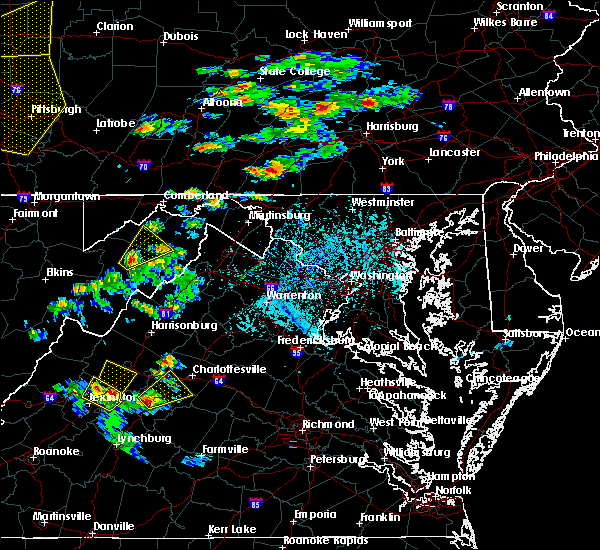 Radar Image for Severe Thunderstorms near Crozet, VA at 6/4/2020 4:20 PM EDT