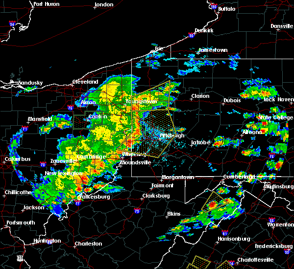 Radar Image for Severe Thunderstorms near New Kensington, PA at 6/4/2020 4:22 PM EDT