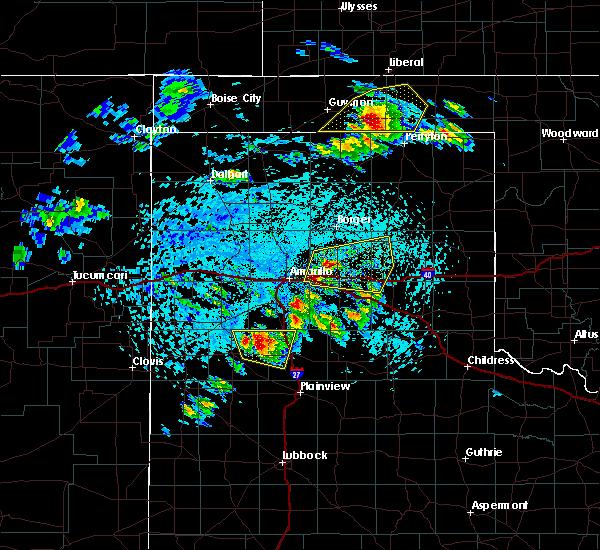 Radar Image for Severe Thunderstorms near Howardwick, TX at 6/4/2020 3:26 PM CDT