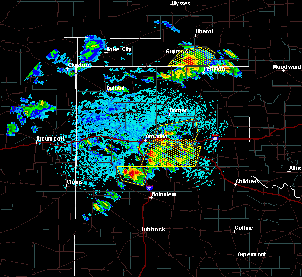 Radar Image for Severe Thunderstorms near Panhandle, TX at 6/4/2020 3:31 PM CDT