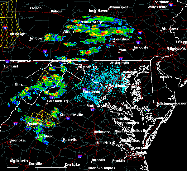 Radar Image for Severe Thunderstorms near Crozet, VA at 6/4/2020 4:33 PM EDT