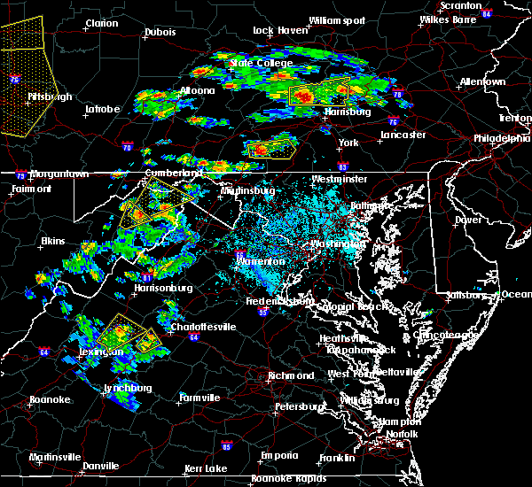 Radar Image for Severe Thunderstorms near Paw Paw, WV at 6/4/2020 4:44 PM EDT