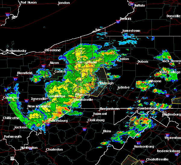 Radar Image for Severe Thunderstorms near New Kensington, PA at 6/4/2020 4:46 PM EDT