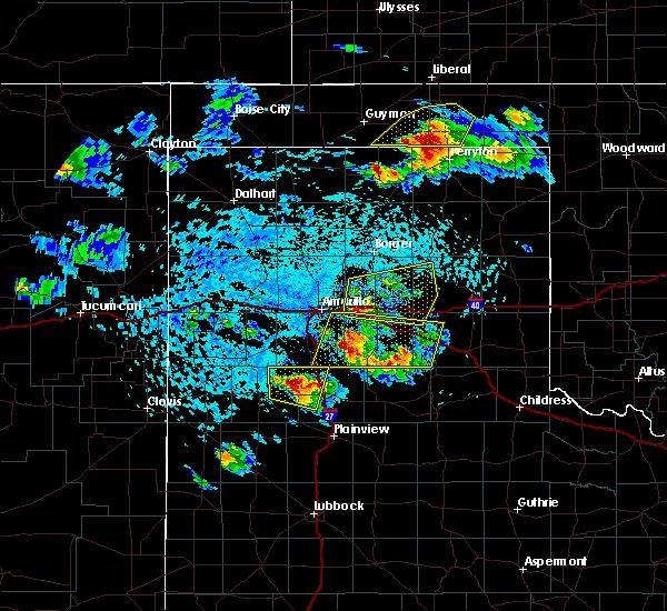 Radar Image for Severe Thunderstorms near Follett, TX at 6/4/2020 3:47 PM CDT