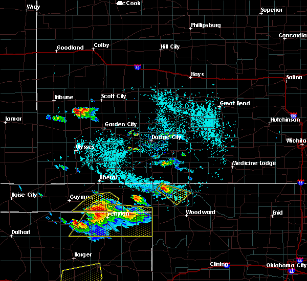 Radar Image for Severe Thunderstorms near Buffalo, OK at 6/4/2020 3:48 PM CDT
