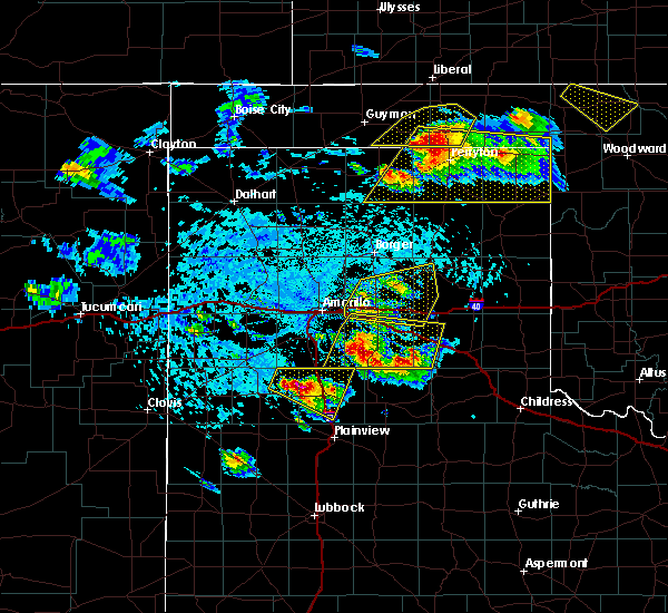 Radar Image for Severe Thunderstorms near Panhandle, TX at 6/4/2020 3:54 PM CDT