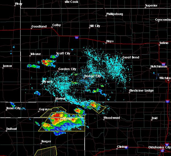 Radar Image for Severe Thunderstorms near Buffalo, OK at 6/4/2020 3:58 PM CDT