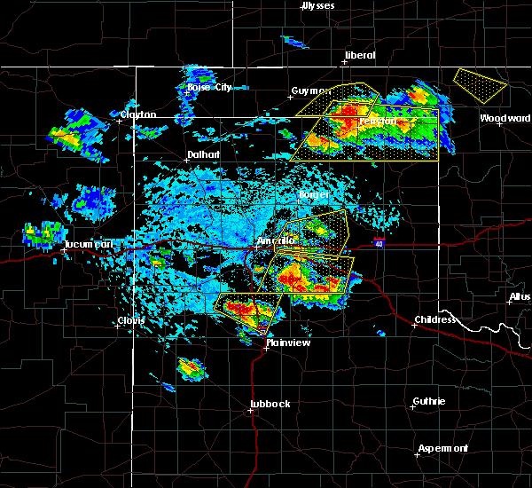 Radar Image for Severe Thunderstorms near Follett, TX at 6/4/2020 3:59 PM CDT