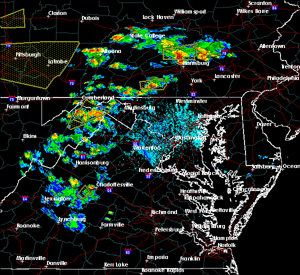 Radar Image for Severe Thunderstorms near Table Rock, PA at 6/4/2020 5:01 PM EDT