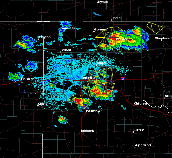 Radar Image for Severe Thunderstorms near Claude, TX at 6/4/2020 4:05 PM CDT