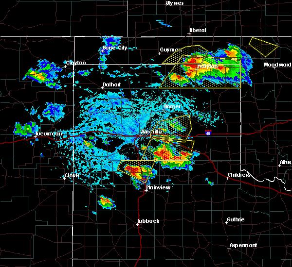 Radar Image for Severe Thunderstorms near Howardwick, TX at 6/4/2020 4:05 PM CDT