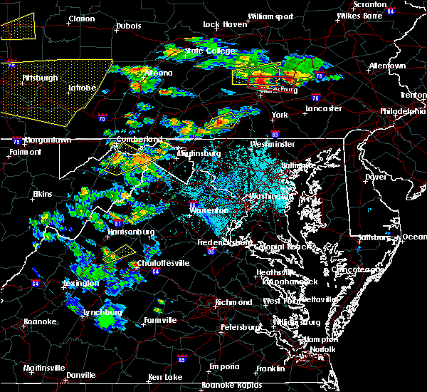 Radar Image for Severe Thunderstorms near Orange, VA at 6/4/2020 5:12 PM EDT
