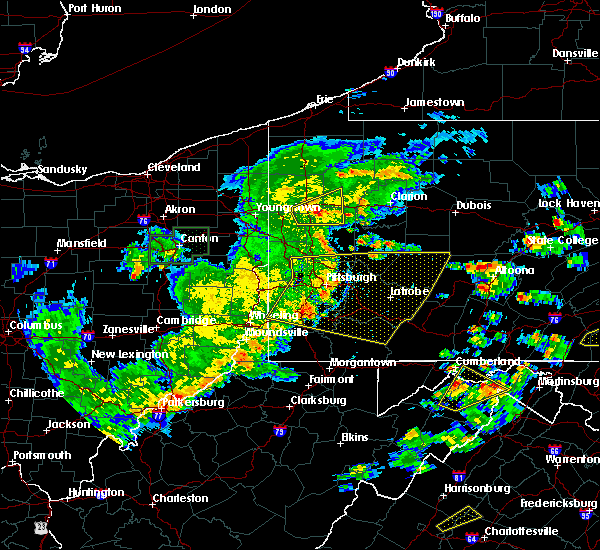 Radar Image for Severe Thunderstorms near New Kensington, PA at 6/4/2020 5:17 PM EDT