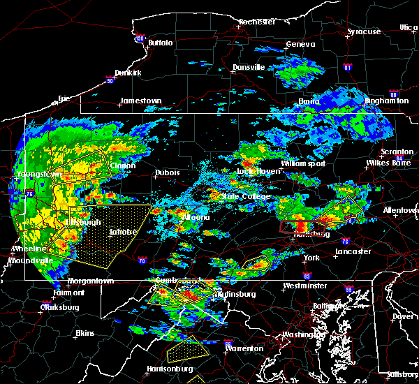 Radar Image for Severe Thunderstorms near Newtown, PA at 6/4/2020 5:18 PM EDT