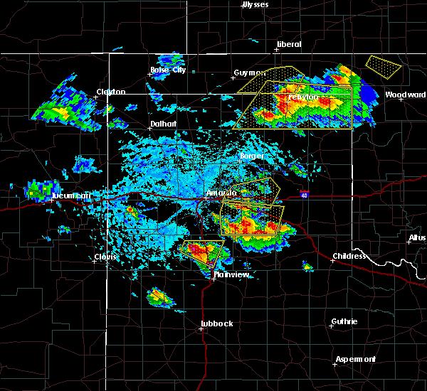 Radar Image for Severe Thunderstorms near Howardwick, TX at 6/4/2020 4:23 PM CDT