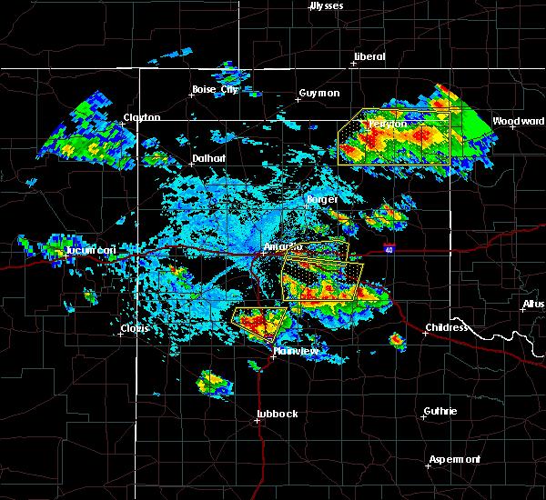 Radar Image for Severe Thunderstorms near Follett, TX at 6/4/2020 4:26 PM CDT