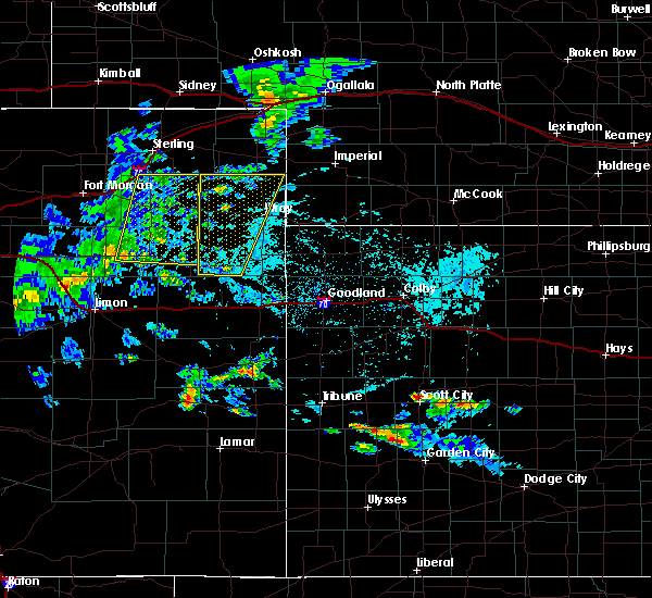 Radar Image for Severe Thunderstorms near Yuma, CO at 6/4/2020 3:38 PM MDT