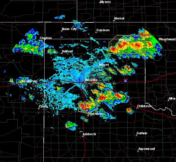 Radar Image for Severe Thunderstorms near Follett, TX at 6/4/2020 4:39 PM CDT