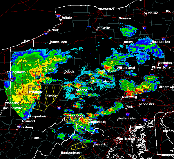 Radar Image for Severe Thunderstorms near Fort Indiantown Gap, PA at 6/4/2020 5:38 PM EDT