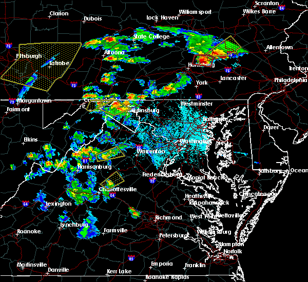 Radar Image for Severe Thunderstorms near Orange, VA at 6/4/2020 5:41 PM EDT