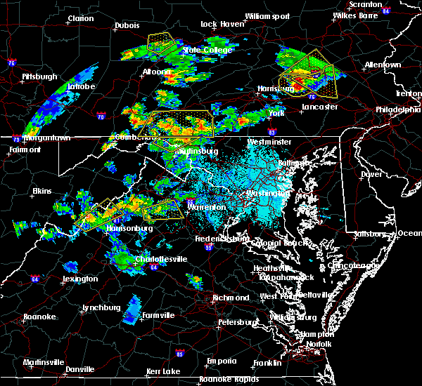 Radar Image for Severe Thunderstorms near Green Spring, WV at 6/4/2020 6:06 PM EDT