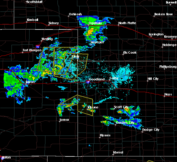 Radar Image for Severe Thunderstorms near Laird, CO at 6/4/2020 4:17 PM MDT