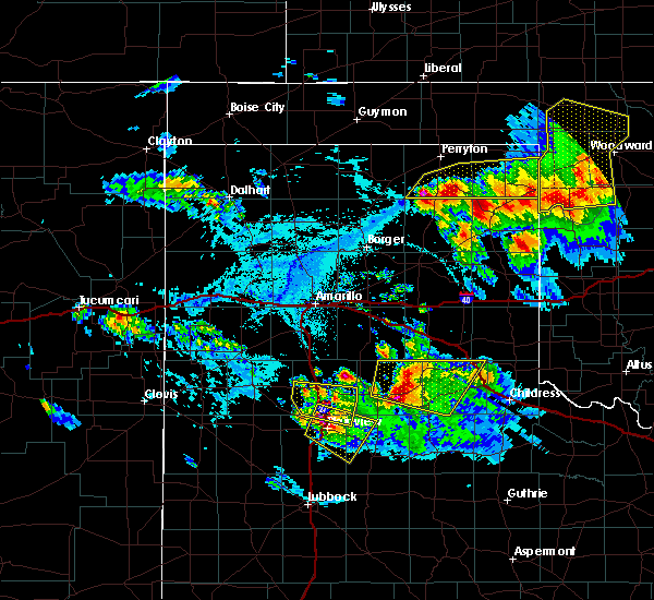 Radar Image for Severe Thunderstorms near Lipscomb, TX at 6/4/2020 5:18 PM CDT
