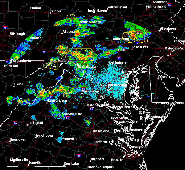 Radar Image for Severe Thunderstorms near Ridgeley, MD at 6/4/2020 6:22 PM EDT