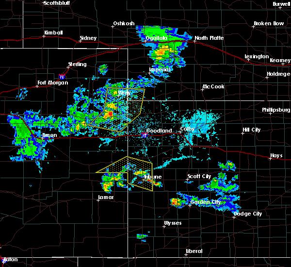 Radar Image for Severe Thunderstorms near Horace, KS at 6/4/2020 4:36 PM MDT
