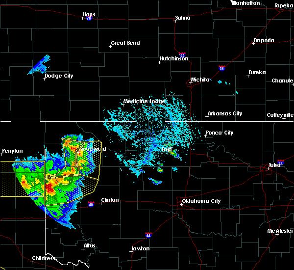 Radar Image for Severe Thunderstorms near Camargo, OK at 6/4/2020 5:38 PM CDT