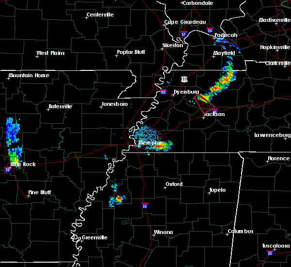 Radar Image for Severe Thunderstorms near Jackson, TN at 6/4/2020 5:57 PM CDT