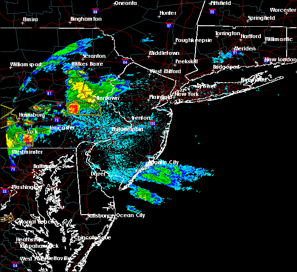 Radar Image for Severe Thunderstorms near Bally, PA at 6/4/2020 7:05 PM EDT