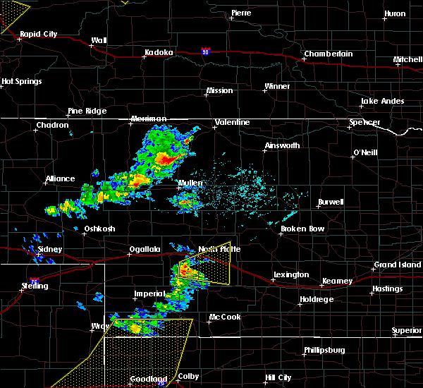 Radar Image for Severe Thunderstorms near Maxwell, NE at 6/4/2020 6:09 PM CDT