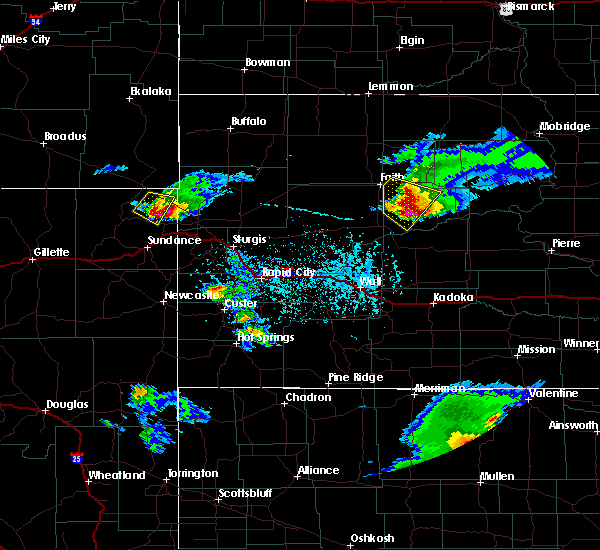 Radar Image for Severe Thunderstorms near Fruitdale, SD at 6/4/2020 5:12 PM MDT